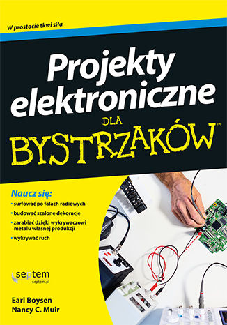 Okładka książki/ebooka Projekty elektroniczne dla bystrzaków