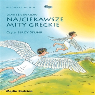 Okładka książki Najciekawsze mity greckie