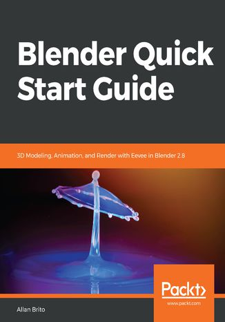 Okładka książki/ebooka Blender Quick Start Guide
