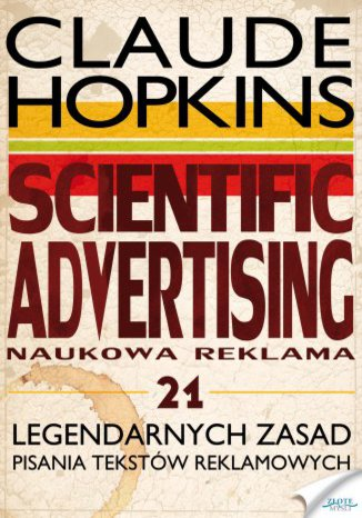 Okładka książki/ebooka Scientific Advertising
