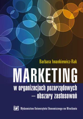 Okładka książki/ebooka Marketing w organizacjach pozarządowych-obszary zastosowań