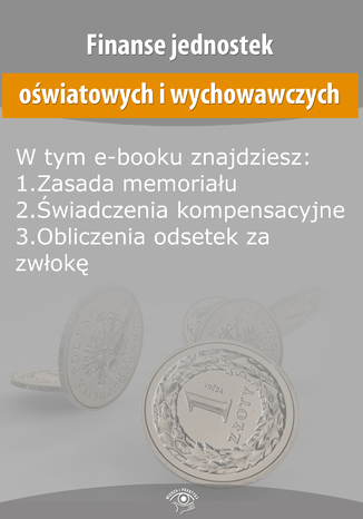 Okładka książki/ebooka Finanse jednostek oświatowych i wychowawczych, wydanie listopad 2015 r