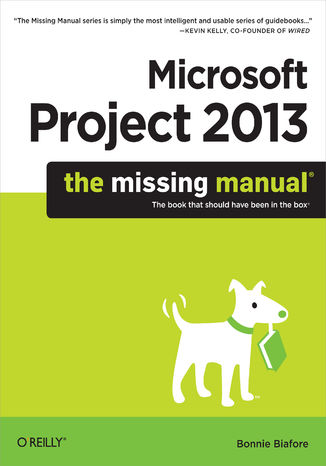 Okładka książki/ebooka Microsoft Project 2013: The Missing Manual