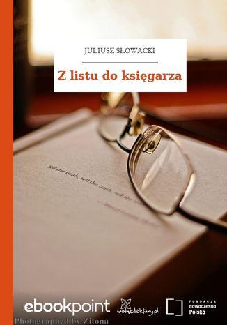 Okładka książki/ebooka Z listu do księgarza