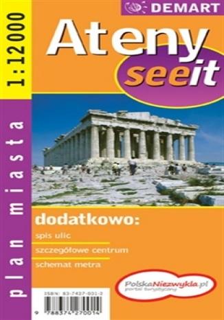 Okładka książki/ebooka Ateny. Plan miasta (See it)