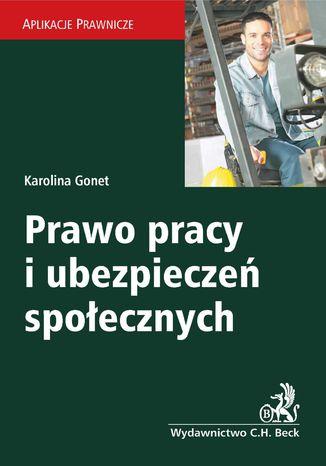 Okładka książki/ebooka Prawo pracy i ubezpieczeń społecznych