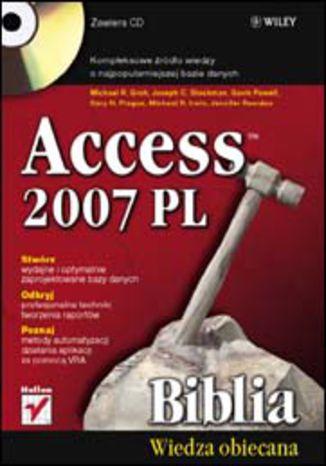 Okładka książki/ebooka Access 2007 PL. Biblia