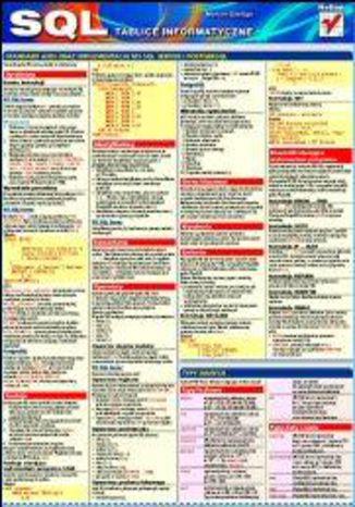 Okładka książki Tablice informatyczne. SQL