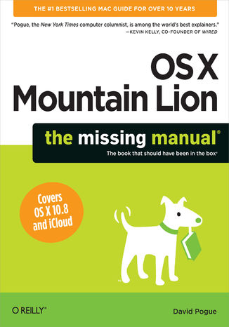 Okładka książki/ebooka OS X Mountain Lion: The Missing Manual