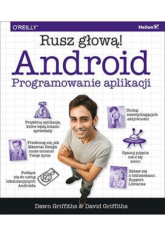 Okładka książki/ebooka Android. Programowanie aplikacji. Rusz głową!