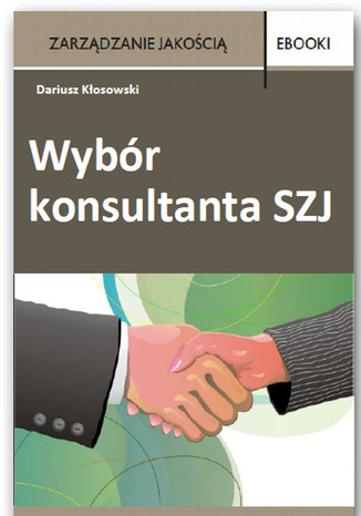 Okładka książki/ebooka Wybór konsultanta SZJ