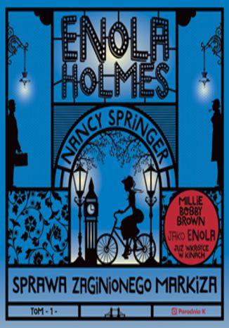 Okładka książki/ebooka Enola Holmes. Sprawa zaginionego markiza