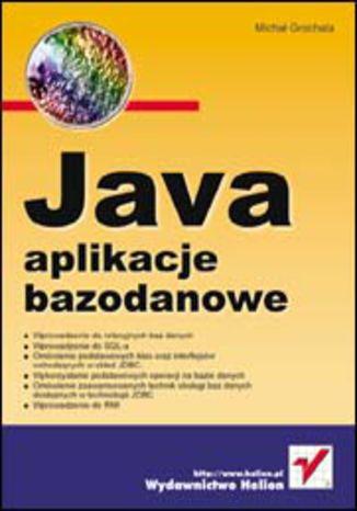 Okładka książki/ebooka Java. Aplikacje bazodanowe