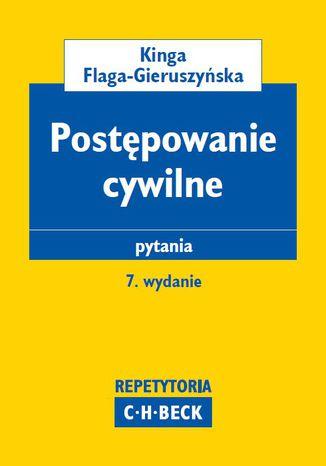 Okładka książki/ebooka Postępowanie cywilne. Pytania