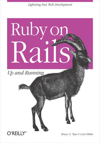 Okładka książki/ebooka Ruby on Rails: Up and Running. Up and Running