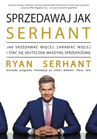 Okładka książki/ebooka Sprzedawaj jak Serhant