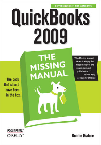 Okładka książki/ebooka QuickBooks 2009: The Missing Manual
