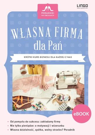 Okładka książki/ebooka Własna firma dla Pań