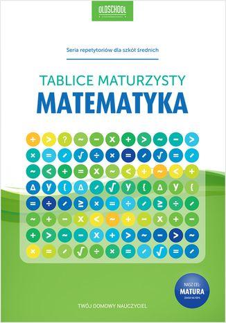 Okładka książki Matematyka. Tablice maturzysty