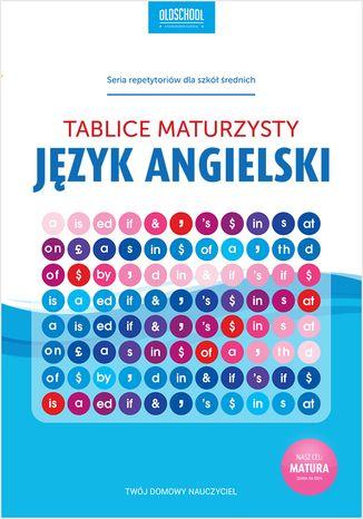 Okładka książki/ebooka Język angielski. Tablice maturzysty