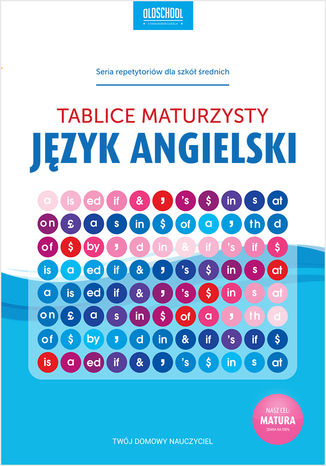 Okładka książki Język angielski. Tablice maturzysty