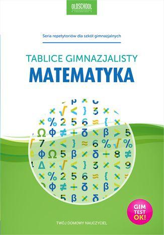 Okładka książki/ebooka Matematyka. Tablice gimnazjalisty