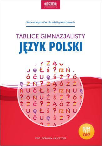 Okładka książki Język polski. Tablice gimnazjalisty