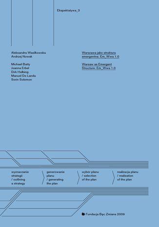 Okładka książki/ebooka Warszawa jako struktura emergentna: Em_Wwa 1.0
