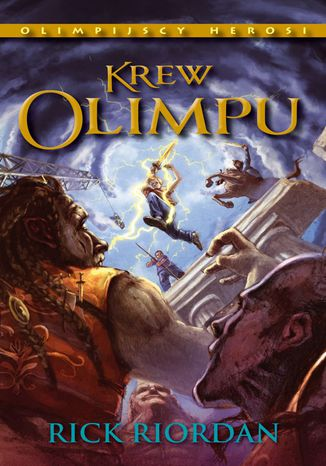 Okładka książki Krew Olimpu. Tom V Olimpijscy herosi
