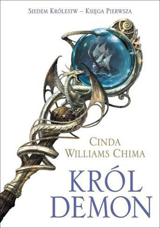 Okładka książki/ebooka Król Demon. Księga I. Siedem Królestw