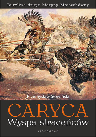 Okładka książki Caryca Wyspa straceńców