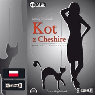 Okładka książki Kot z Cheshire