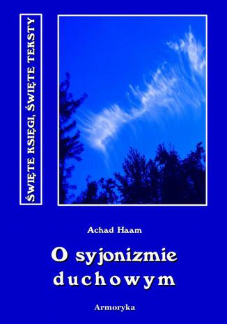 Okładka książki O syjonizmie duchowym