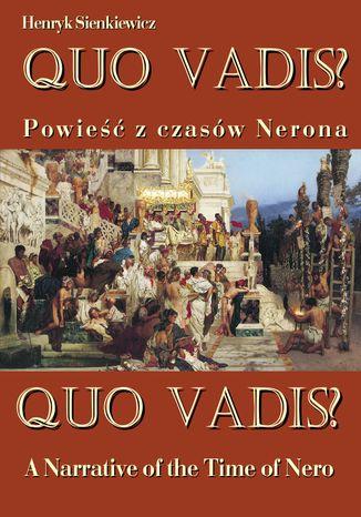Okładka książki/ebooka Quo vadis? A Narrative of the Time of Nero