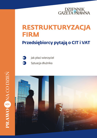Okładka książki/ebooka Restrukturyzacja Firm
