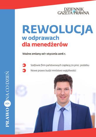 Okładka książki REWOLUCJA w odprawach dla menedżerów