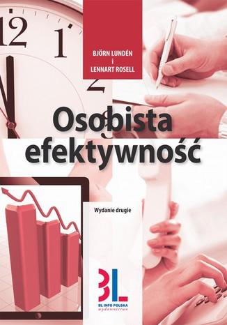 Okładka książki/ebooka Osobista efektywność