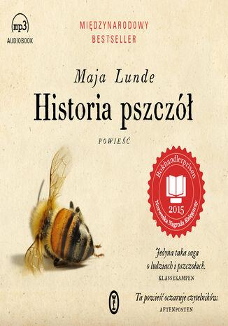 Okładka książki Historia pszczół