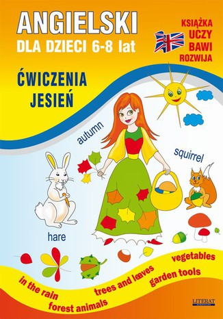 Okładka książki Angielski dla dzieci 6-8 lat. Ćwiczenia. Jesień
