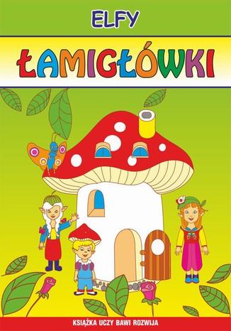 Okładka książki Elfy. Łamigłówki