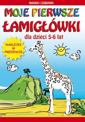 Okładka książki Moje pierwsze łamigłówki. Dla dzieci 5-6 lat