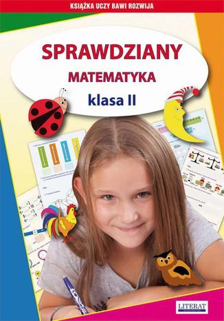 Okładka książki/ebooka Sprawdziany. Matematyka. Klasa II