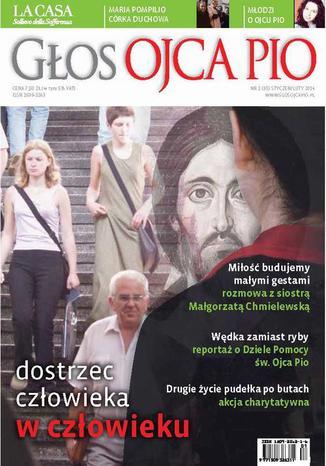 Okładka książki/ebooka Głos Ojca Pio nr 1 (85) styczeń/luty 2014