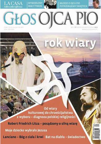 Okładka książki Głos Ojca Pio nr 5 (77) wrzesień/październik 2012