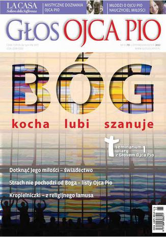 Okładka książki Głos Ojca Pio nr 6 (78) listopad/grudzień 2012
