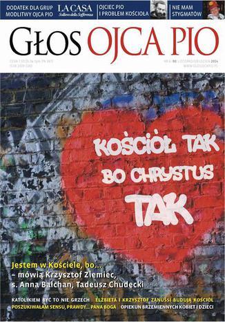 Okładka książki/ebooka Głos Ojca Pio nr 6 (90) listopad/grudzień 2014