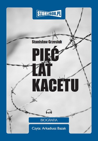 Okładka książki/ebooka Pięć lat kacetu