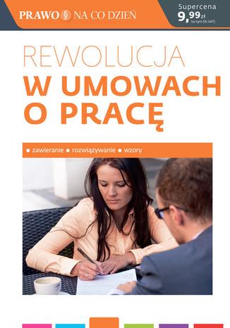 Okładka książki  Rewolucja w umowach o pracę