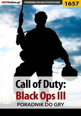 Okładka książki/ebooka Call of Duty: Black Ops III - poradnik do gry