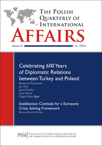 Okładka książki The Polish Quarterly of International Affairs nr 1/2015